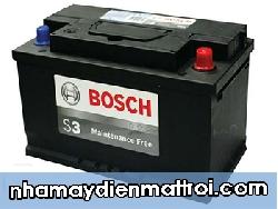 Ắc quy Bosch khô 12V-100Ah (DIN60038)