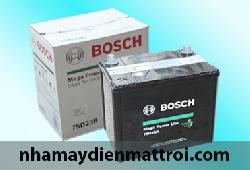 Ắc quy Bosch khô 12V-65Ah (75D23R/L)