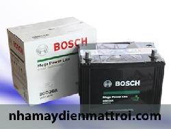 Ắc quy Bosch khô 12V-70Ah (80D26R/L)