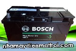 Ắc quy Bosch khô 12V-88Ah (DIN58815) cọc thụt