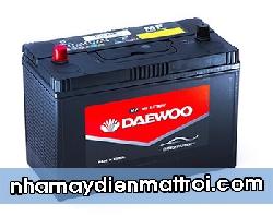Ắc quy Daewoo 12V-100Ah (C31S-850 cọc bulon)