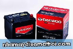 Ắc quy Daewoo 12V-50Ah (26R-525/26-525)