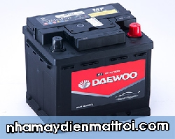 Ắc quy Daewoo 12V-54Ah (DIN55457)