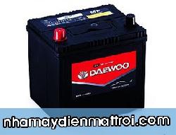 Ắc quy Daewoo 12V-60Ah (55D23R/L)