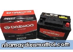 Ắc quy Daewoo 12V-60Ah (DIN56009)