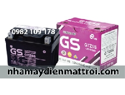 Ắc quy GS 12V - 3.5Ah GTZ5S xe Arblade, Future Neo, Wave RS