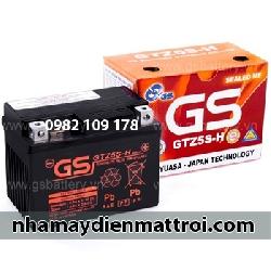 Ắc quy GS 12V - 4Ah GTZ5S-H xe Future Neo, Wave RS