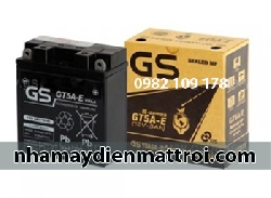 Ắc quy GS 12V - 5Ah GT5AE xe Dream, Wave, Future