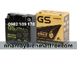 Ắc quy GS 12V - 6Ah GT6A-E xe Dream, Wave, Future
