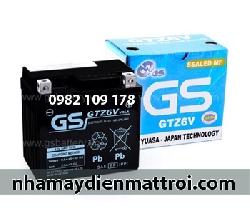 Ắc quy GS 12V - 6Ah GTZ6V xe PCX, Atila,…