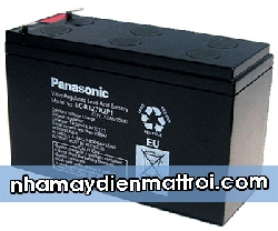 Ắc quy Panasonic 12V-7.2Ah (LC-R127R2P1)