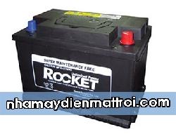 Ắc quy Rocket 12V-90Ah (59043) cọc thuận