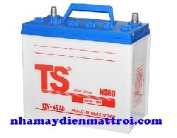 Ắc quy Tia Sáng nước 12V-45Ah (NS60 R/L)