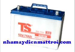 Ắc quy Tia Sáng nước 12V-70Ah (N70 R/L)