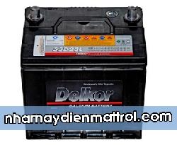 BìnhẮc quy Delkor 12V-60Ah (55D23L/R)