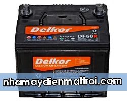 BìnhẮc quy Delkor 12V-60Ah (DF60R)