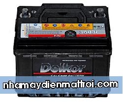 BìnhẮc quy Delkor 12V-60Ah (DIN56030)