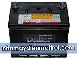 BìnhẮc quy Delkor 12V-60Ah (N50Z/L/R)