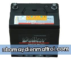 BìnhẮc quy Delkor 12V-65Ah (75D23R/L)