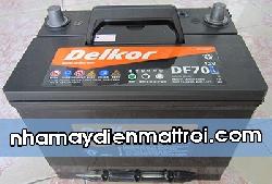 BìnhẮc quy Delkor 12V-65Ah (DF70R/L)