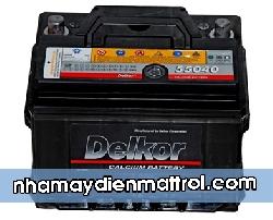 Bình Ắc quy Delkor 12V-72Ah (DIN57219)
