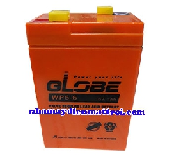 BìnhẮc quy GLOBE 6V-5Ah (WP5-6)