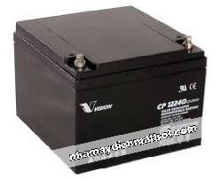 BìnhẮc quy Vision 12V-24Ah (CP12240EX)