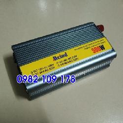 Bộ chuyển điện 500w 12v có cầu chì bảo vệ