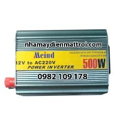 Bộ chuyển đổi điện- inverter Meind chống ngược cực ắc quy 500W-12V