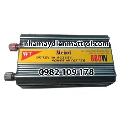 Bộ chuyển đổi điện- inverter Meind chống ngược cực ắc quy 600W-12V