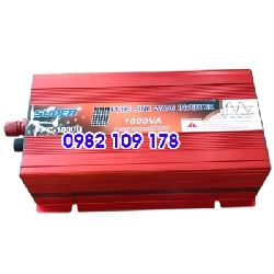 Bộ chuyển đổi điện sin chuẩn 1000W 24V sang 220V hãng Suoer