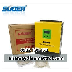 Bộ đổi điện 3000W 24V có sạc ắc quy 30A và sạc PWM 50A PS-3K-24-Plus