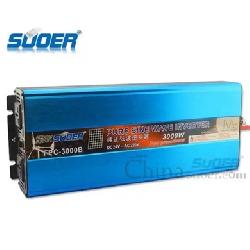 Bộ invereter sin chuẩn 24v lên 220v 3000w suoer FPC-3000B