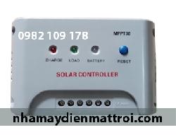 Điều khiển sạc năng lượng mặt trời MPPT40A 12V/24V Auto (MPPT30-40)