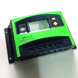Điều khiển sạc năng lượng mặt trời PWM 40A 12V-24V LCD