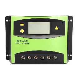 ĐIỀU KHIỂN SẠC NĂNG LƯỢNG MẶT TRỜI PWM 60A LCD 12V/24V AUTO
