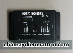 Điều khiển sạc năng lượng mặt trời pwm C0612-6A 12V
