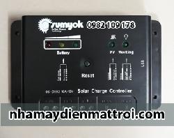 Điều khiển sạc năng lượng mặt trời PWM C1012-10A 12V