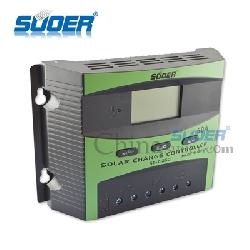 Điều khiển sạc năng lượng mặt trời PWM SUOER 50A LCD 12V-24V