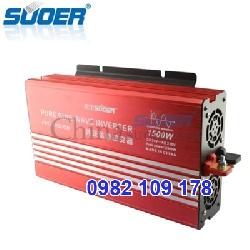 Inverter chuyển điện sin chuẩn 1500w 24V lên 220V hiệu suất cao