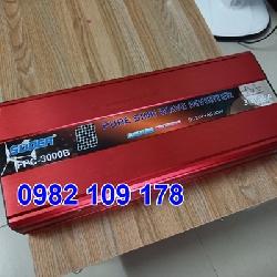 Inverter chuyển điện sin chuẩn 3000W 12V lên 220V hãng Suoer