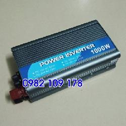 Inverter chuyển đổi điện 1000w 24v có cầu chì bảo vệ bên ngoài