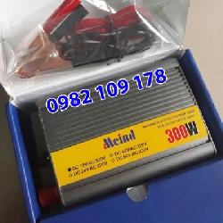 inverter đổi điện 12v lên 220v 300w có cầu chì bảo vệ bên ngoài