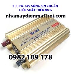 Inverter sin chuẩn 1000W 24V có sạc AC