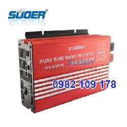 Inverter sin chuẩn 1000w 24V hãng Suoer hiệu suất cao