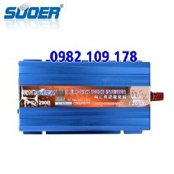 INVERTER SIN CHUẨN 1200W 24V LÊN 220V SUOER FPC-1200B