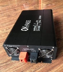 Inverter sin chuẩn 3000W 24V sang 220V có màn hình hiển thị - OK PASS 24V 3000W