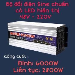 Inverter sin chuẩn 6000W 48V sang 220V