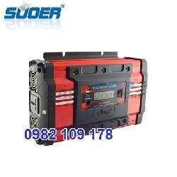 Máy chuyển điện sin chuẩn 1000W 24V lên 220V SUOER