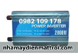 Máy kích điện-inverter POWER 2000W-12V
